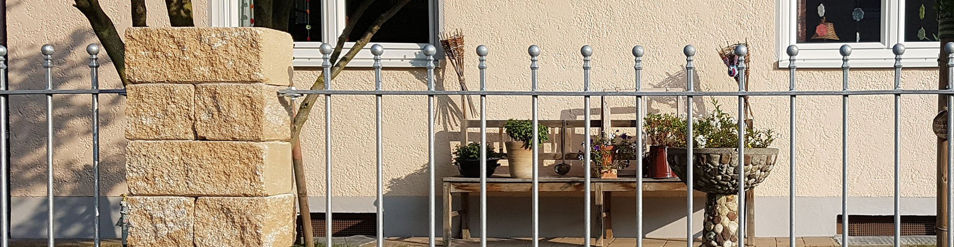 Gartenzäune aus Eisen